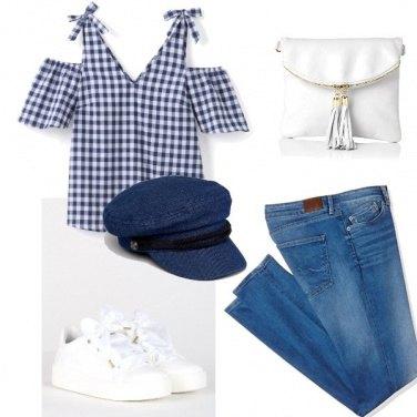 Outfit Cappello denim