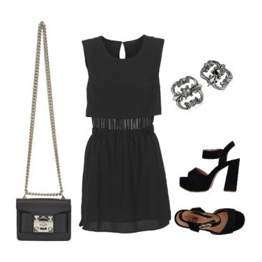 Outfit Black Summer night