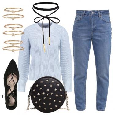 Outfit Un tuffo nell\'azzurro