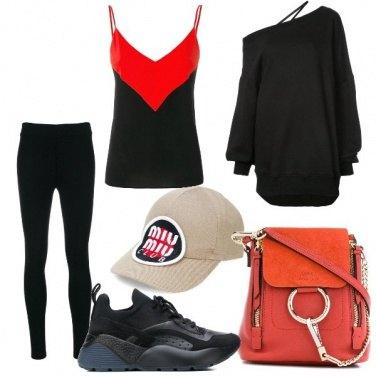 Outfit Stilosa con le leggings