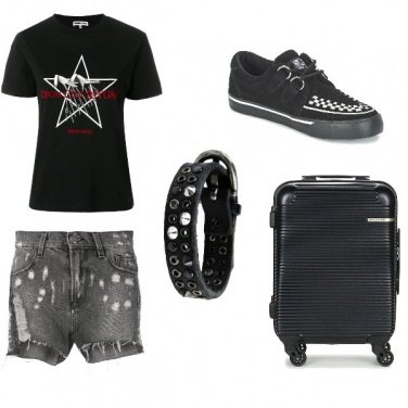 Outfit Metal Traveller