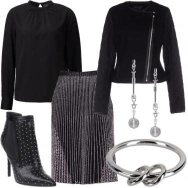 Outfit Per chi ama il nero assoluto