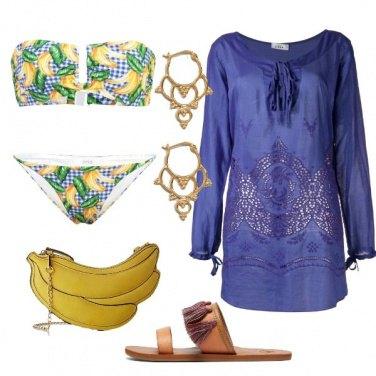 Outfit Originale in spiaggia