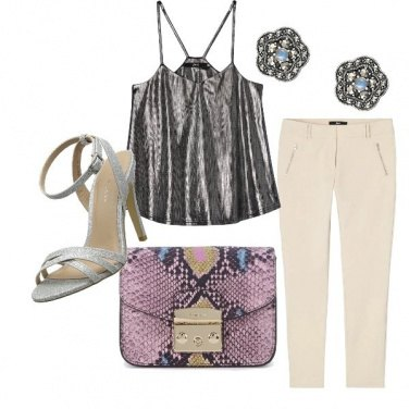 Outfit Silver wow!