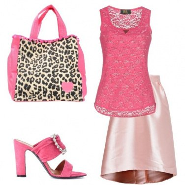 Outfit Sexy pink