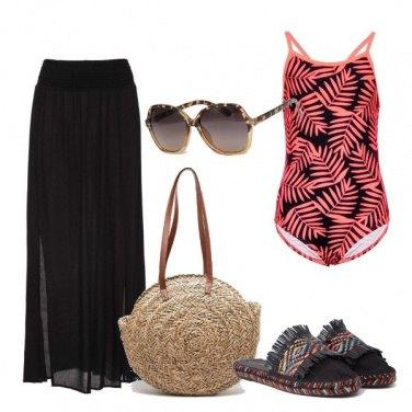 Outfit Etnica al mare