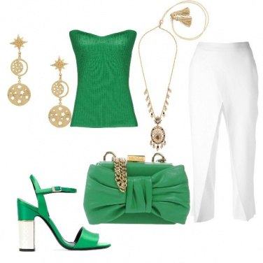 Outfit Living green