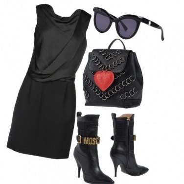 Outfit Dark rock
