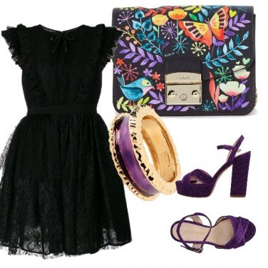 Outfit Rock violet