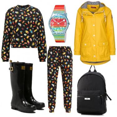 Outfit Come quando fuori piove