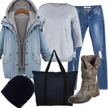 Outfit Tendenza parka