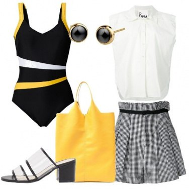 Outfit Costume intero shorts Vicky
