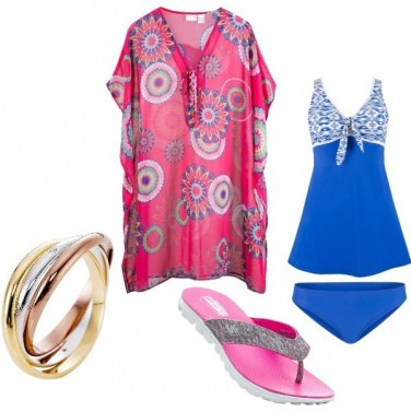 Outfit Pancino in spiaggia