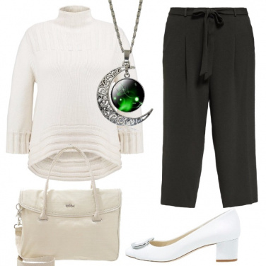 Outfit Mi piace il bianco