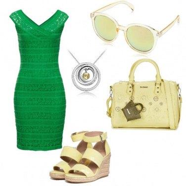 Outfit Lime e menta
