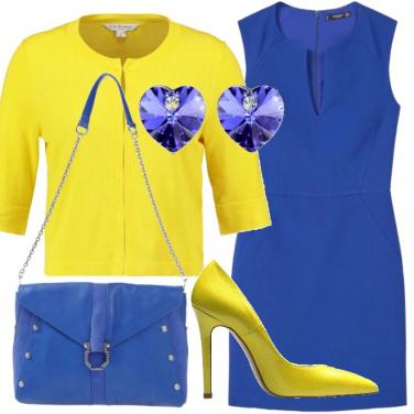 Outfit Il cuore blu