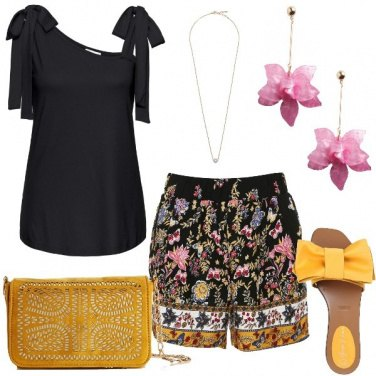 Outfit Trendy colorata
