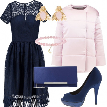 Outfit Cerimoniosa in rosa