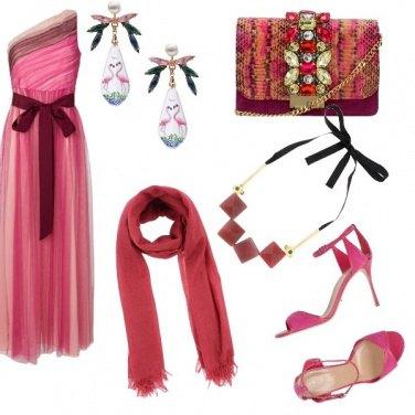 Outfit Rosa flamingo