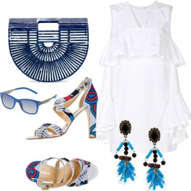 Outfit Blue vibes