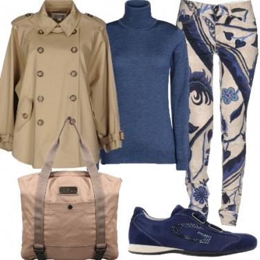 Outfit L\'accostamento blue e beige