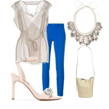 Outfit Il Pantalone blu