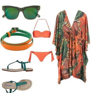 Outfit Verdearancio beach wear