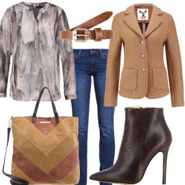 Outfit L\'eleganza del blazer