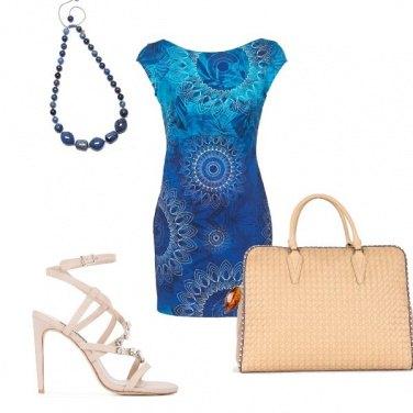 Outfit Il vestito stampato