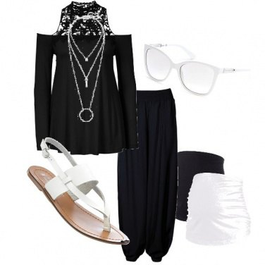 Outfit Dolce attesa raffinata