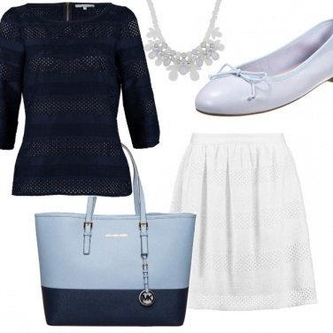 Outfit Boat in blue