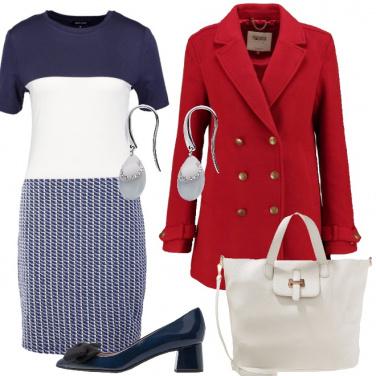 Outfit Un caldo stile marino