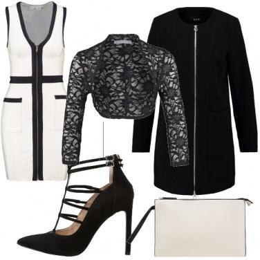 Outfit Tubino bianco