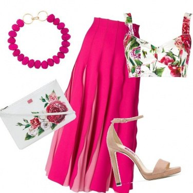 Outfit Fucsia chic!!