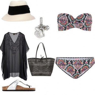 Outfit Premaman al mare