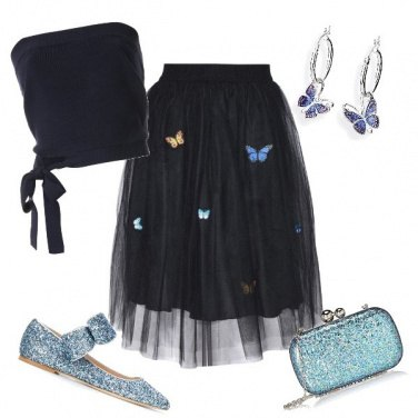 Outfit Delicate come farfalle