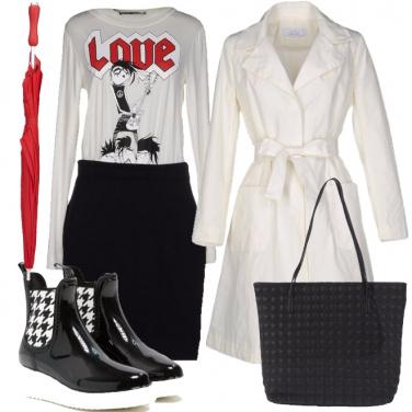Outfit Sotto la pioggia con amore