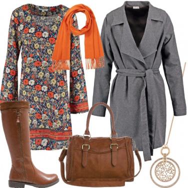 Outfit Un tocco d\'arancione