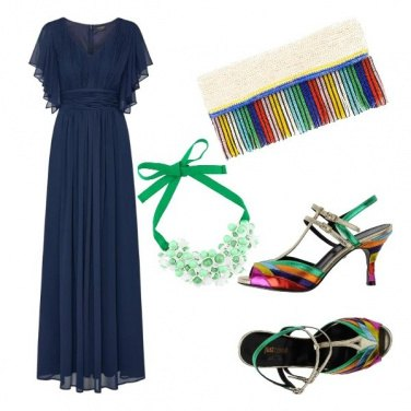 Outfit Notte arcobaleno