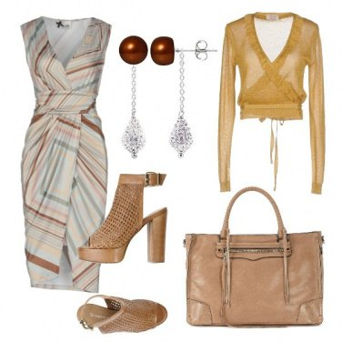 Outfit Fantasia a righe