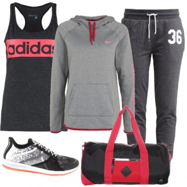 Outfit Chiaro scuri sportivi