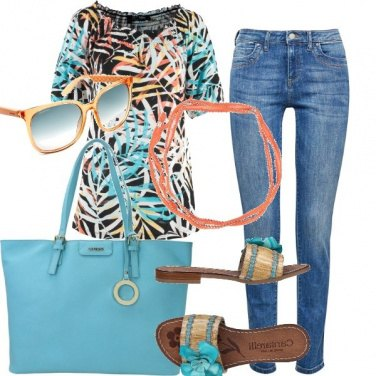 Outfit Jeans e maglietta #2