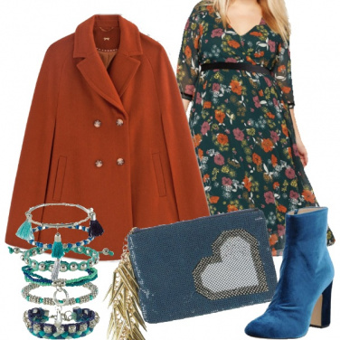 Outfit Curvy boho chic