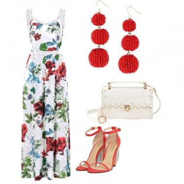 Outfit Fresca eleganza dei fiori