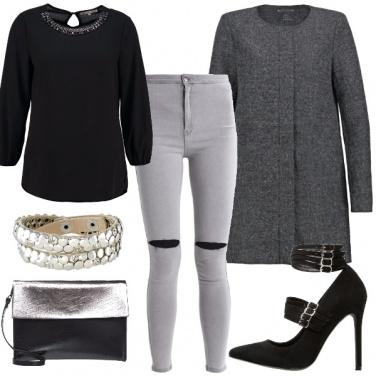 Outfit Eleganza rock
