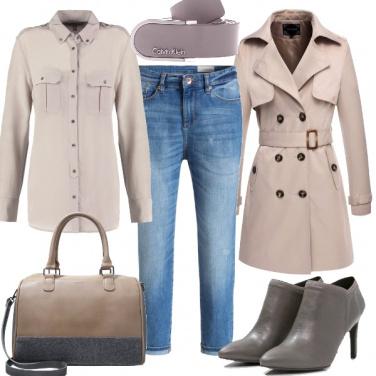Outfit Semplicità in camicia