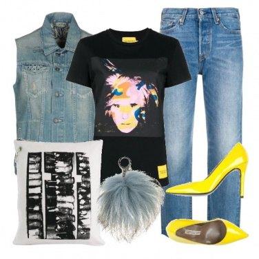 Outfit TSK Omaggio a A. W.