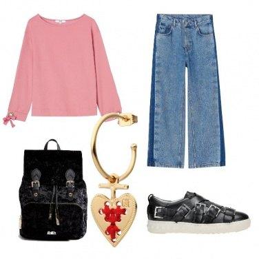 Outfit Il jeans di moda