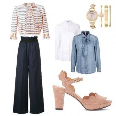 Donna 4 Outfit Scuolauniversit Insegnante Look Da Per Bon Ton WqAzq6Ravy