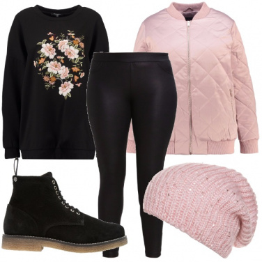 Outfit Romantica curvy